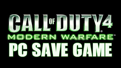 cod4 mw 100 save game