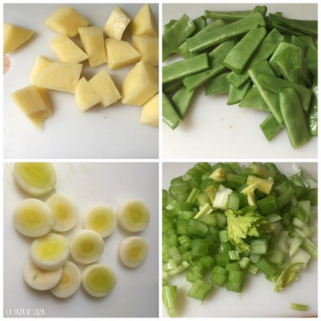 sopa-de-judías-verdes-patatas-y-salchichas