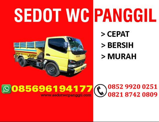 Sedot WC Kota Bekasi Telpon 085398113620