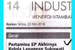 Pertamina EP Finally Manage Field Sukowati