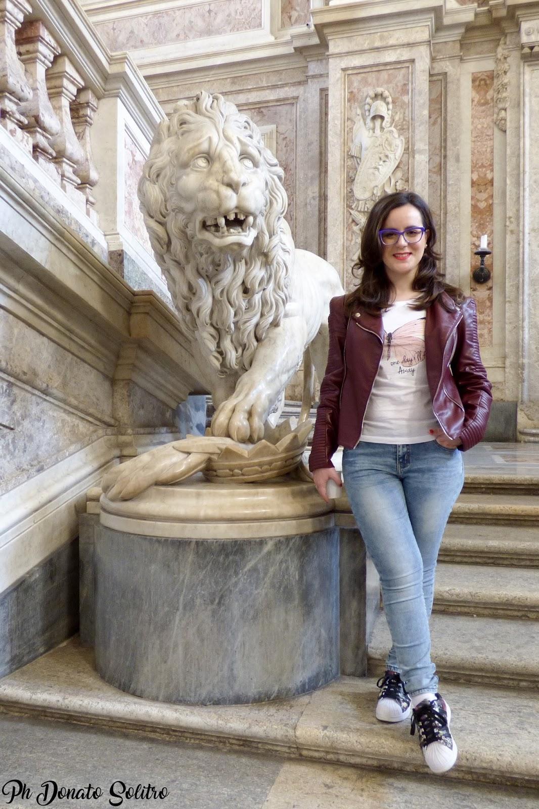Marzia Amaranto travel blogger - Reggia Di Caserta