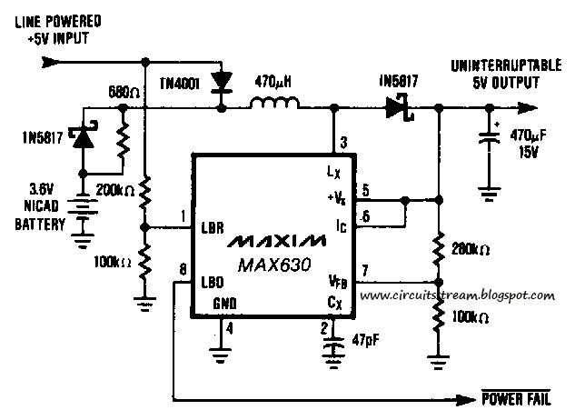 build a uninterpretable supply circuit diagram
