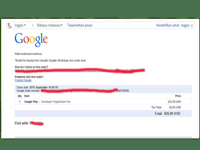 Cara Daftar Google Play Developer untuk Upload Aplikasi Android