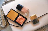 Pochette de chez Zara et maquillage Kiko