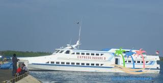 kapal express bahari karimunjawa