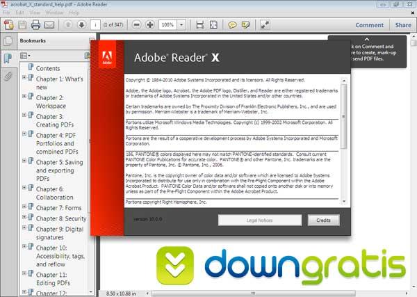 adobe reader x 10.1.0 kostenlos