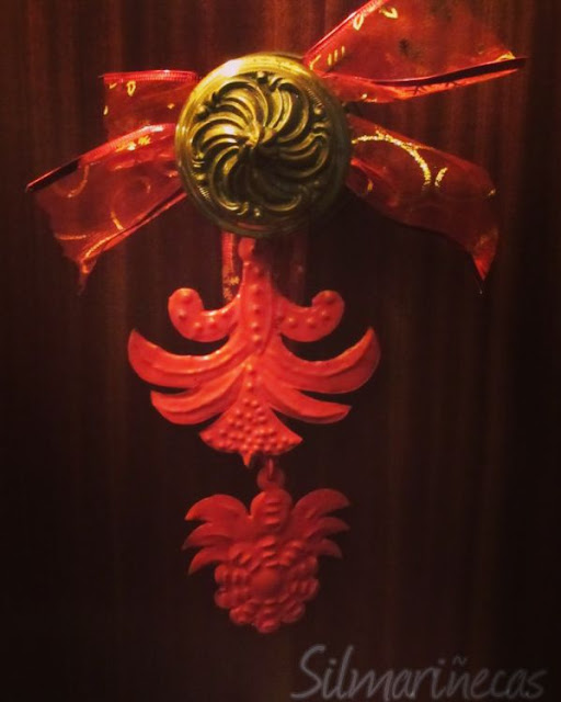 figuras navideñas de hojalata de desembalaje navarra
