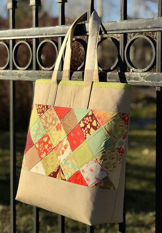 En Pointe Quilt Bag Free Tutorial