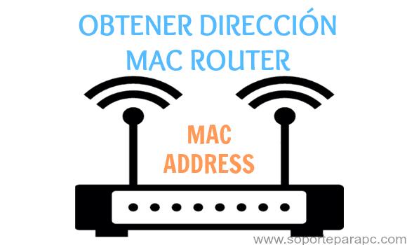 obtener mac de router inalambrico