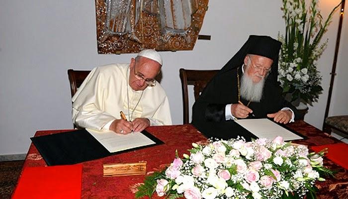 A los 50 años del encuentro entre Pablo VI y Atenágoras