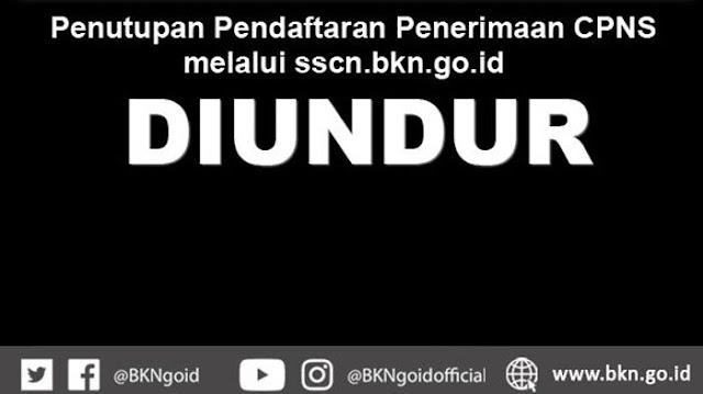 Masa Pendaftaran CPNS di Situs SSCN di Perpanjang Sampai 15 Oktober 2018