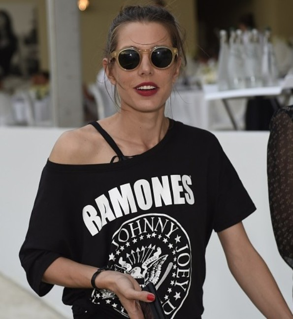 Charlotte Casiraghi At Longines Paris Eiffel Jumping