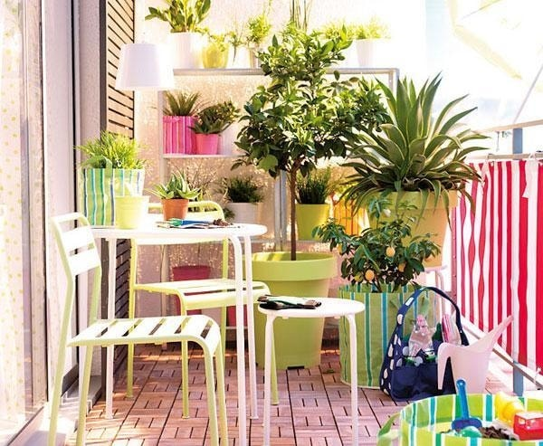 Ideas For Decorating Small Balconies 14