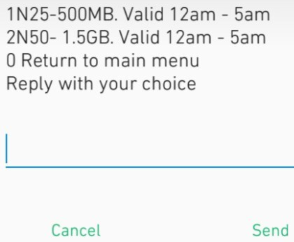 Airtel New Night plan and Data Offer - Get 500MB for N25, 1.5GB for N50 and Lots More...