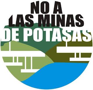 "Web de la plataforma ""No a las minas de potasa"""