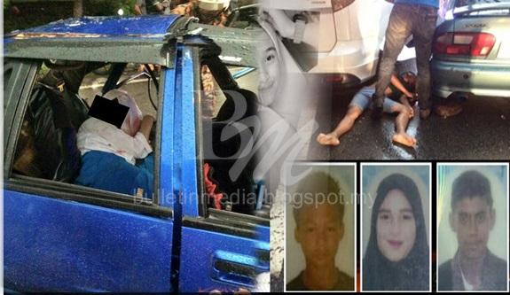 8 Gambar: Dua Pelajar Sekolah Menengah Antara Tiga Maut Terlibat Kemalangan Ngeri