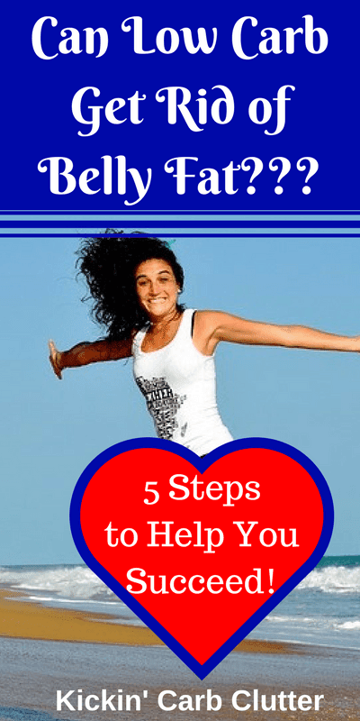 Struggling to Lose Those Last 10 Pounds? Here are 5 Steps to Help You Dump that Belly Fat for Good!