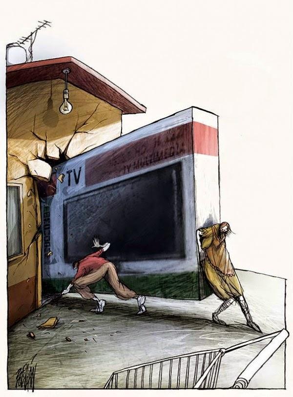 Angel Boligan - Sátira Surrealista |  Tem que ter TV