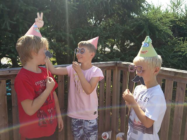 Partypics med grabbarna!