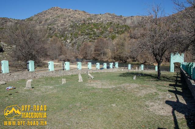 Serbian First World War cemetery near Skochivir village, Macedonia