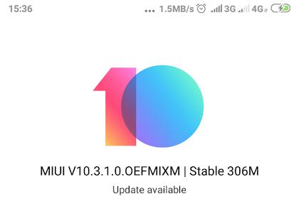 Cek Sekarang! Update MIUI 10.3.1.0 Stable Untuk Redmi S2