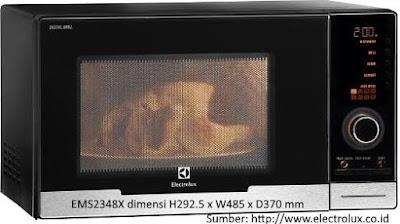 spesifikasi microwave electrolux EMS2348X