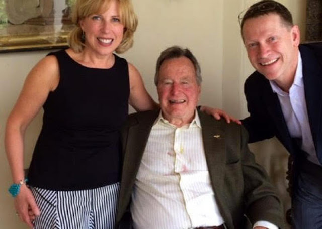 Third woman accuses George H.W. Bush of groping her while posing for photo