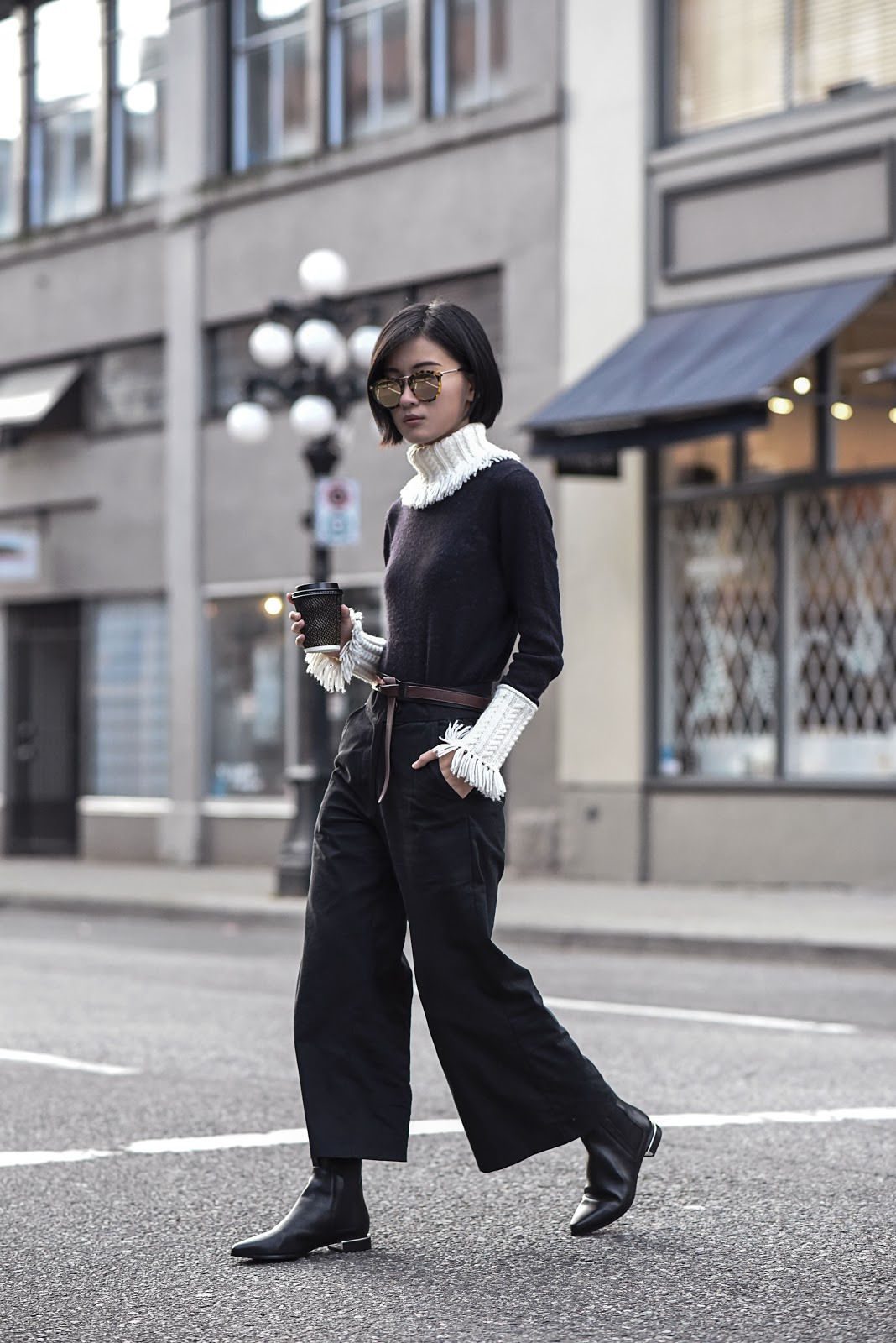 claire liu von vogue tory burch sweater kenzo boots karen walker sunglasses