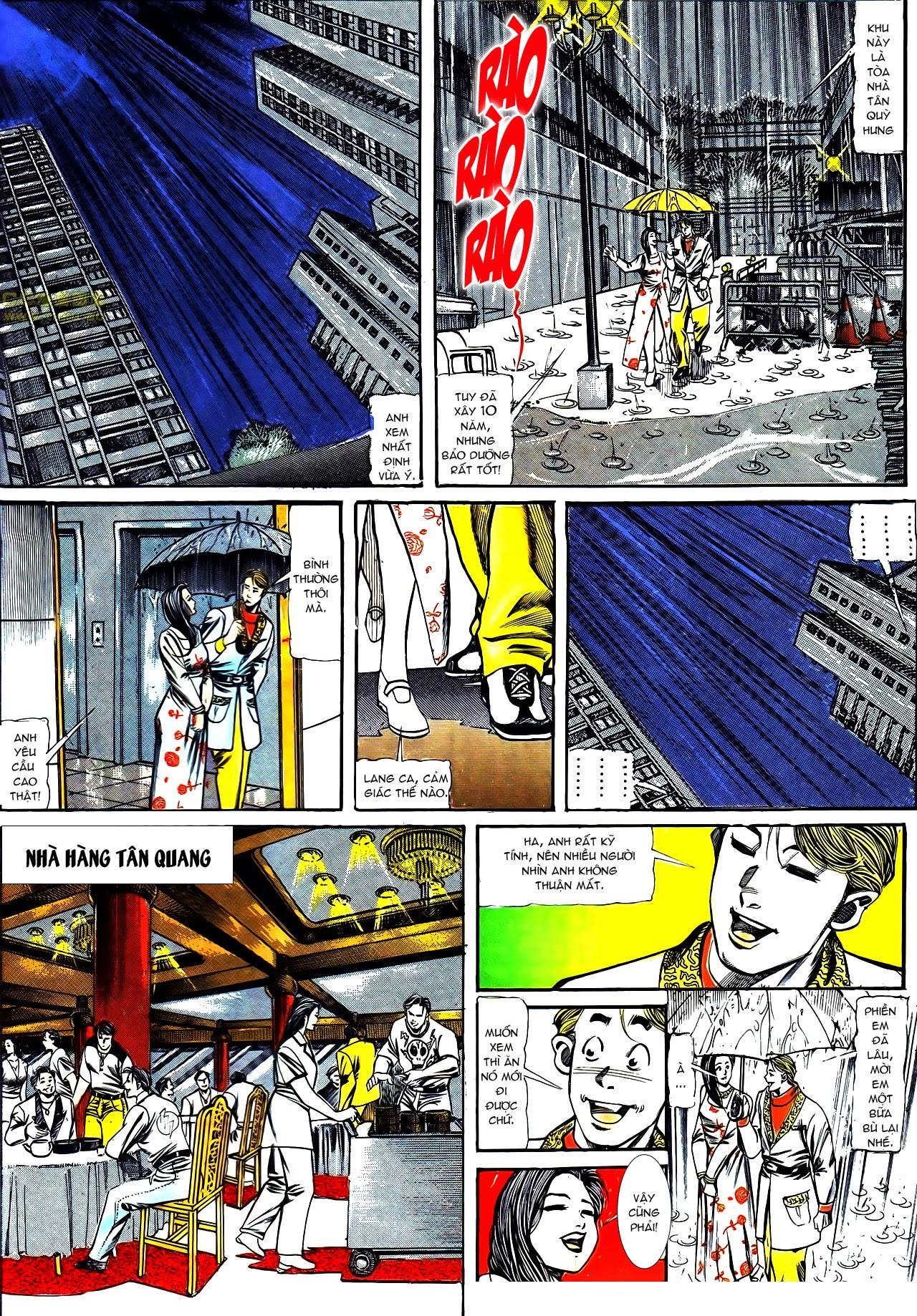 Người Trong Giang Hồ chapter 122: phố dục lạc trang 18