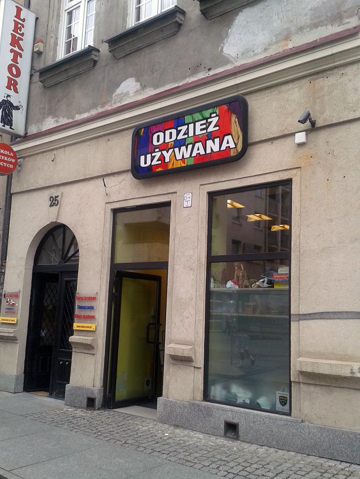 Wrocławskie ciuchlandy: Margo na Oławskiej