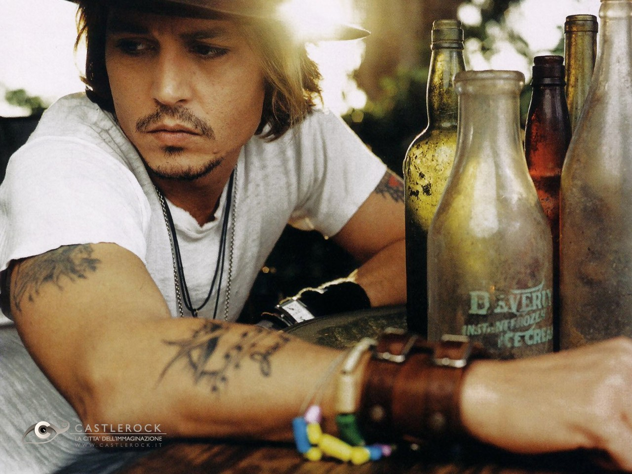 286a6cb96dc33 Favorite Celebrity Tattoo Design Johnny Depp represents the people in his  life