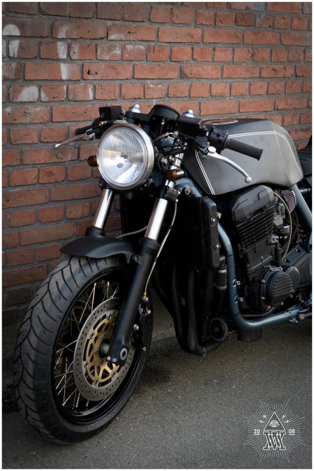 racing caf kawasaki zrx 1200 monkee 26 by wrenchmonkees. Black Bedroom Furniture Sets. Home Design Ideas