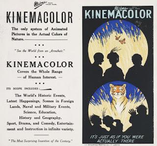 Las primeras películas a color de la historia del Cine