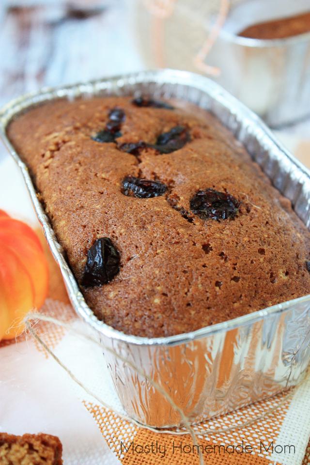 Mini Cranberry Pumpkin Bread Recipe Healthy