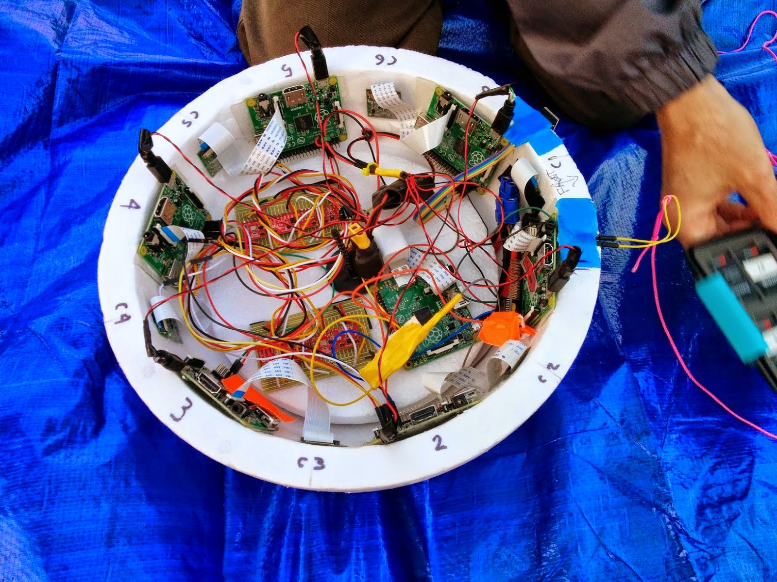 The Computer Network In Space Part 2 Wiringpi2 Python I2c A Satellite Or Bowl Of Spaghetti