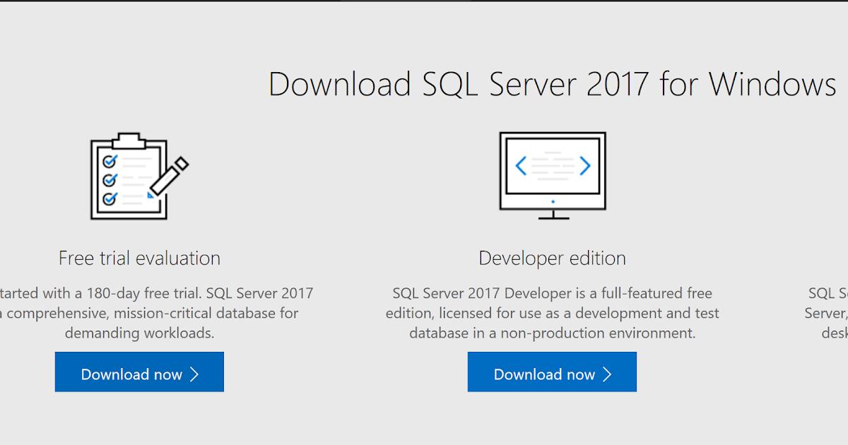 Sql Server 2017 Developer