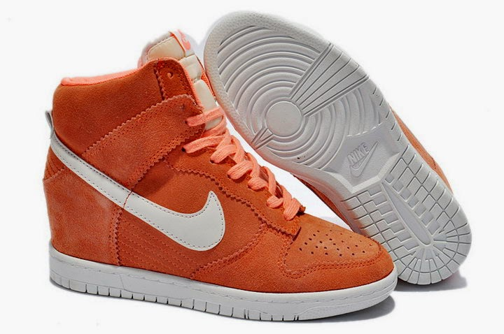 online store a16d2 c1195 ... france today we introduce a latest nike dunk sky hi color orange  whitethis orange suede with