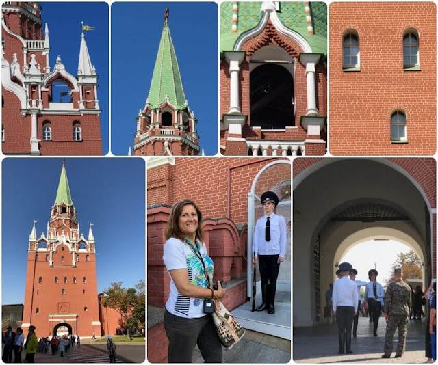 Kremlin - Torre da Trindade (Tróitskaya)
