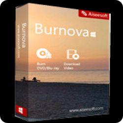 تحميل Aiseesoft Burnova 1.1.8 مجانا انشاء الفيديو بسهولة مع كود التفعيل