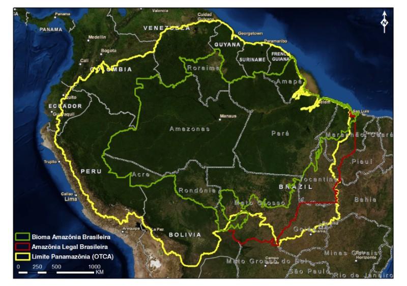#Geografia Física da Amazônia