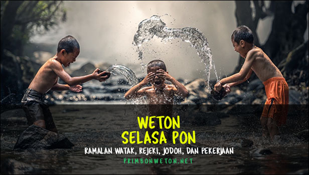 Weton Selasa Pon