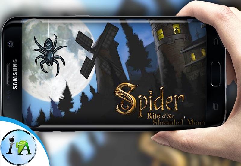 تحميل لعبة Spider: Rite of Shrouded Moon للاندرويد من مديا فاير
