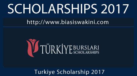 Türkiye Scholarships 2017