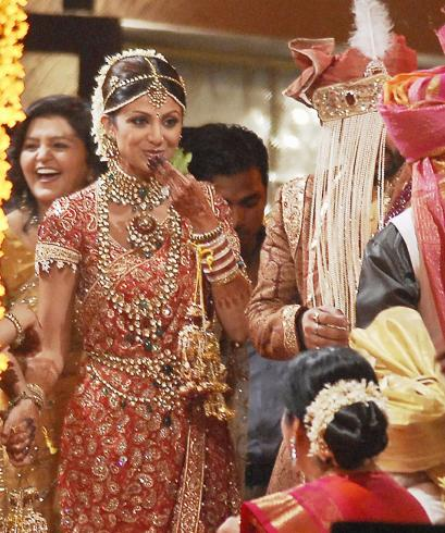 Shaadi Shilpa Shetty Wedding Dress