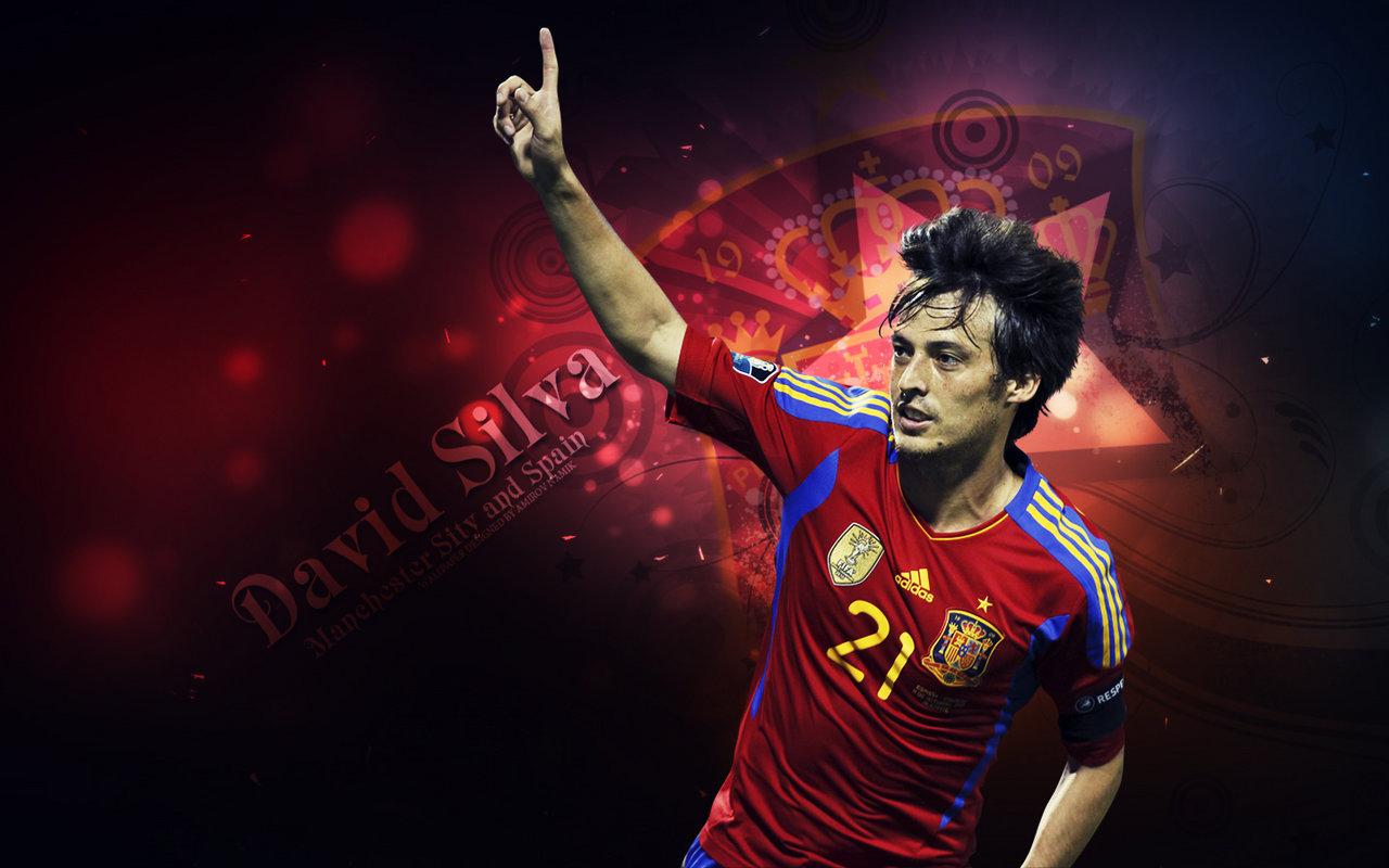 New Sports Stars: David Silva Hd Wallpaper 2012