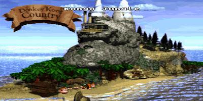 Donkey Kong Country - Captura 1