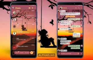 LonelyGirl Theme For Fouad WhatsApp & YOWhatsApp By Alphaelias