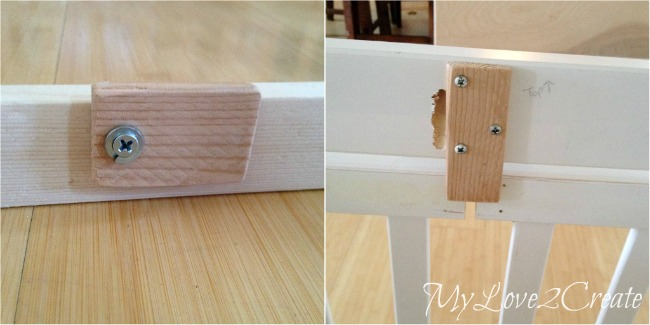 making door stoppers for dog crate