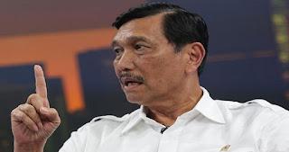 Luhut : Kalau Pak Ma'ruf Amin Belum Banyak Turun, Kita Harap ya (Turun Kampanye)