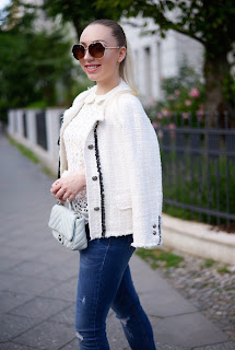 Zara Mini Bag, Chanel inspired Zara blazer